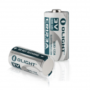 Olight CR123A Lithium batterij 3V 1600mAh