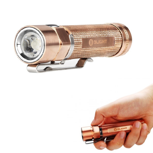 Olight S2 CU Baton Copper