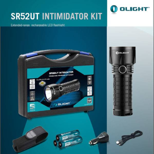 Olight SR52UT Intimidator Kit case