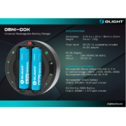 Olight Omni-Dok charger chart