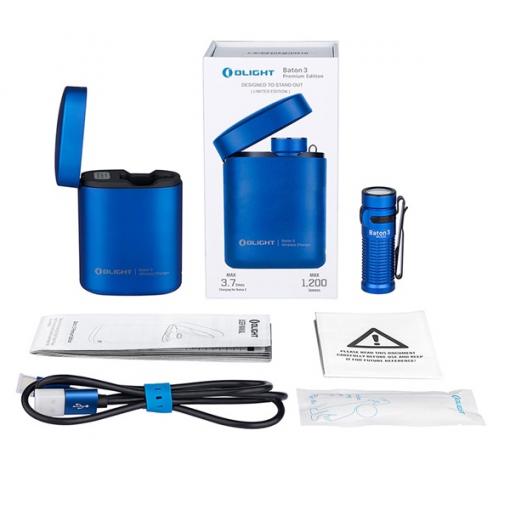Olight Baton 3 Premium Kit Blue