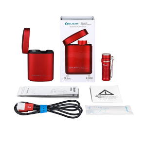 Olight Baton 3 Premium Kit Red